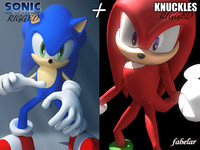 sonic knuckles echidna max