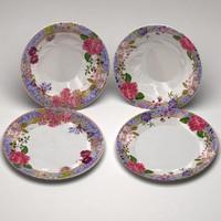3d plates materials model