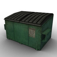 dumpster urban video 3d max