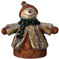 3d model snowman gift christmas