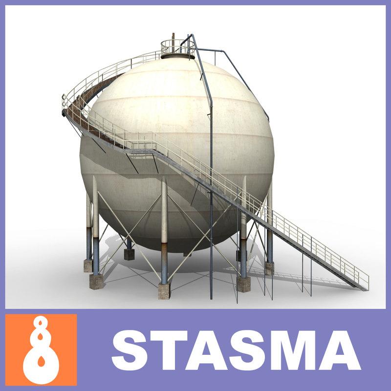 silo b 3d max