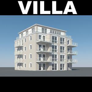 3d balcony window model