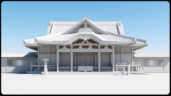 3ds max sanctuaries yasukuni