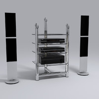 HI-FI stereo system 01