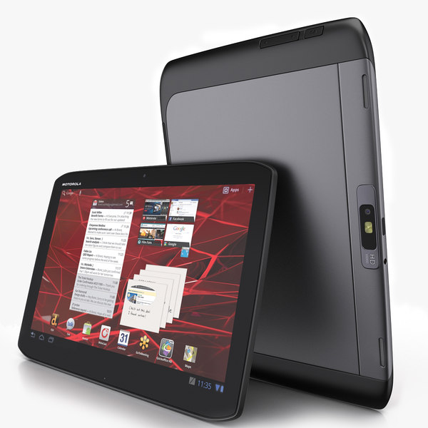 3d motorola xoom 2 tablet model