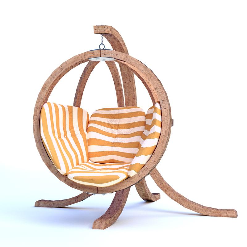chair backyard 3ds
