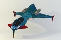 spacecraft ios corridor 3d model