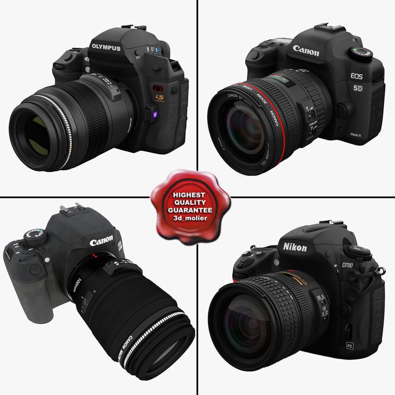 cameras 5 3d max