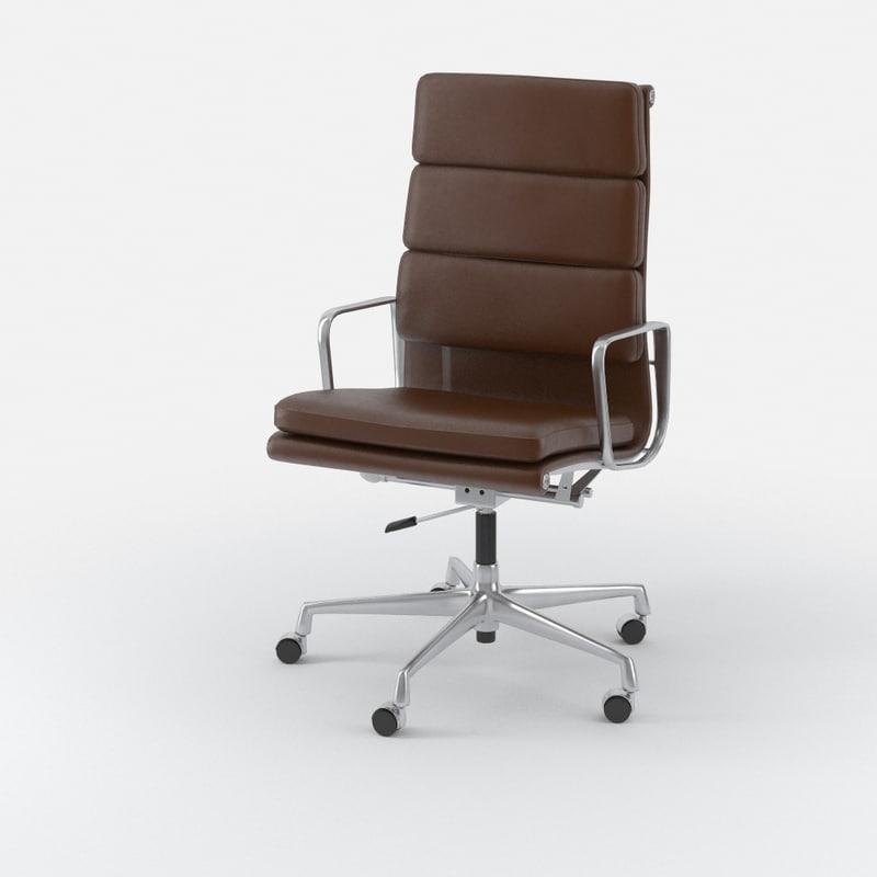 classic executive chair eames 3d max