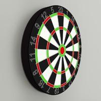 3d darts board
