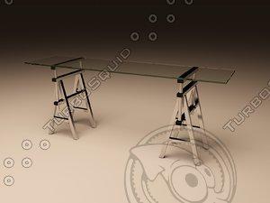 3d eichholtz table console shaker model