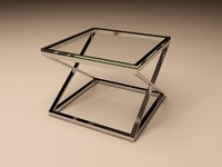 Eichholtz Table Side Criss Cross Square