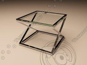 3ds eichholtz table criss cross