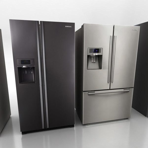 3ds max refrigerator fridges