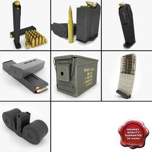 magazines v3 ammo 3d x
