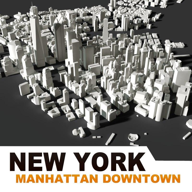 3d buildings new york city