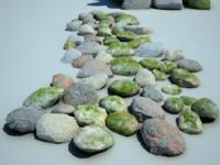 polygons stones max