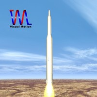 3ds max 2 simorgh missile