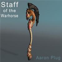 staff warhorse max