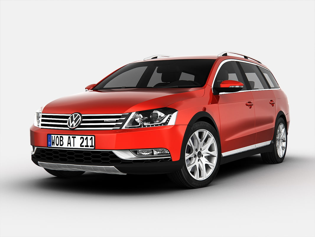 3d volkswagen car model