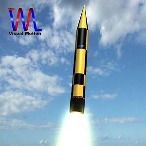 3ds arrow 3 israeli missile