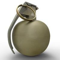 m67 grenade obj