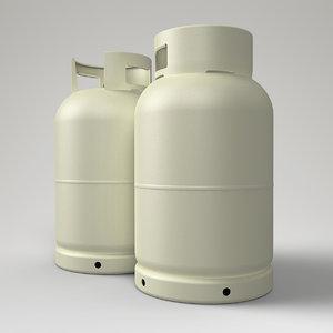 gas bottle 3dm