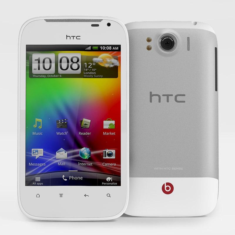 3d model htc sensation xl