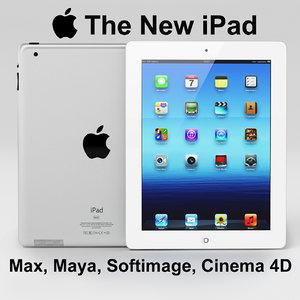 3d apple new ipad