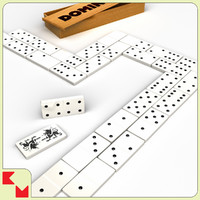 lwo 0-6 domino set