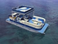 3ds max pontoon boat