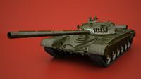 t-72 tank 3d max