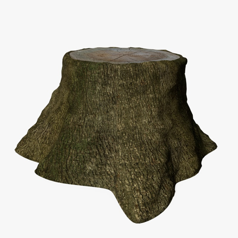 tree trunk 3d 3ds