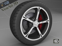 3d ac schnitzer rim tire