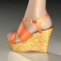 3d charlotte russe platform shoe