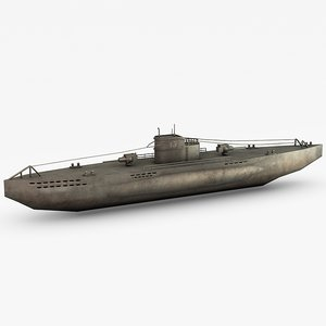 war german submarine u-boat c4d