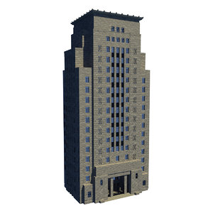 3ds max bank china building