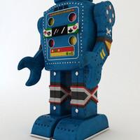 tin robot 3d max