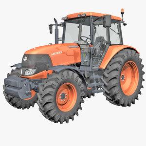 3d model tractor 1
