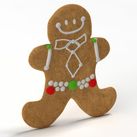 3d gingerbread ginger bread