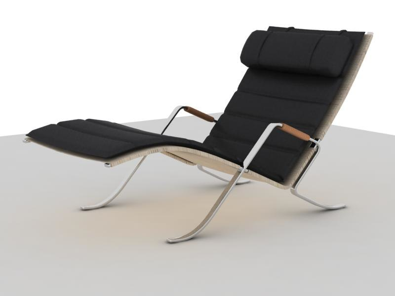 3d model grasshopper chair