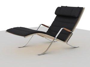 3d model grasshopper chair