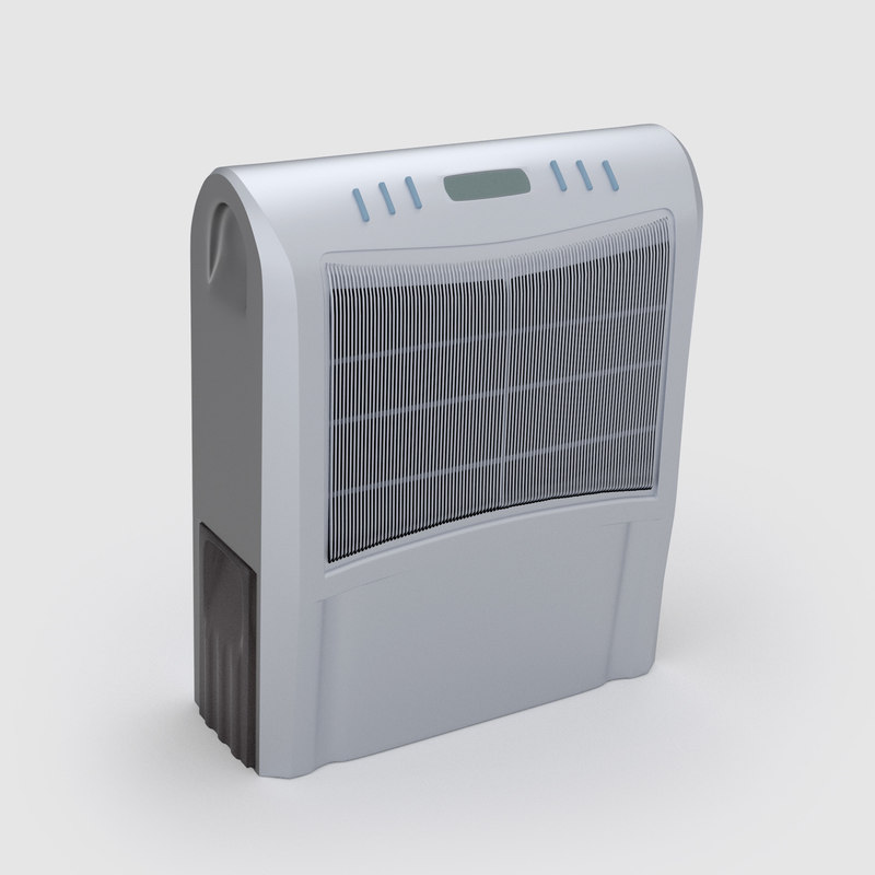 dryer desiccator 3d model