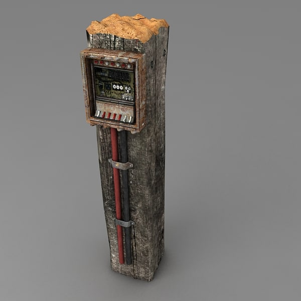 3ds max control panel wooden