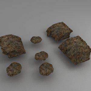 3ds small soil heap