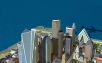 3d model small island