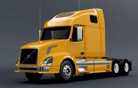 3d model truck vn780