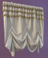 3ds max curtain materials shaded