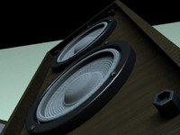 3d floor speakers model