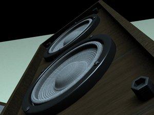 3d floor speakers model